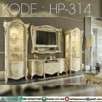 Model Meja Tv Lemari Hias Klasik Mewah HP-314