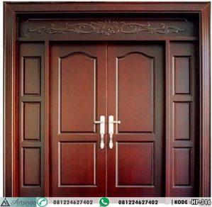 Pintu Kupu Tarung Panel Klasik Minimalis HP-346