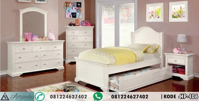 Tempat Tidur Anak Model Kasur Sorong