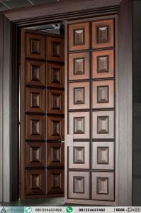 Daun Pintu Kupu Tarung Minimalis Panil Kotak HP-413