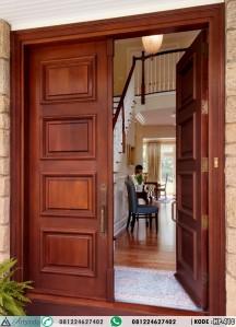 Pintu Kupu Tarung Minimalis Lis Profil HP-410
