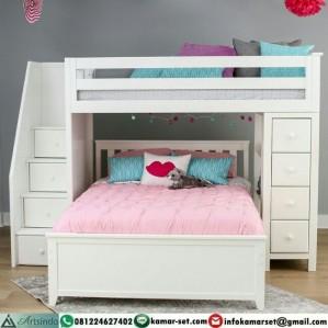 Tempat Tidur Anak Tingkat Multifungsi