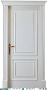 Pintu Kayu Solid Warna Putih