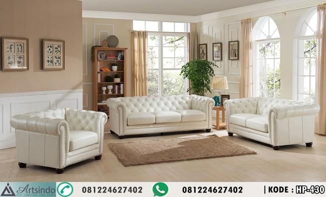 Kursi Tamu Sofa Elegant Minimalis HP-430