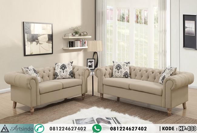 Sofa Tamu Minimalis Simple Elegant HP-433