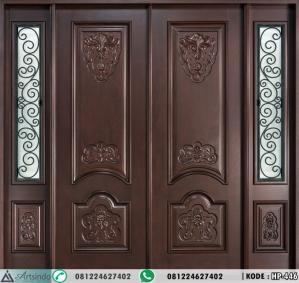 Pintu Kusen Jendela Gendong Klasik Ukir