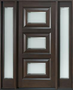 Pintu Utama Minimalis Panil Kaca HP-447