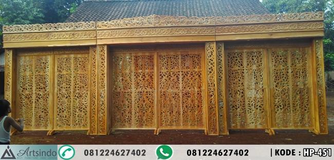 Pembuatan Dekorasi Pelminan Kondisi Belum Di cat