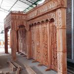 Sketsel Gebyok Pelaminan Maroko
