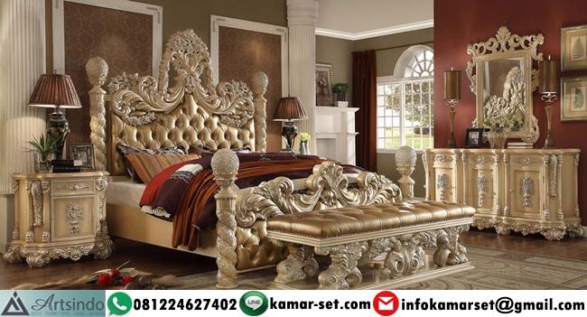 Tempat Tidur Mewah Ukir Royal