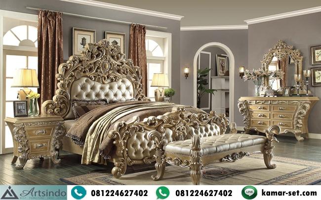 Tempat Tidur Set Ukiran Klasik