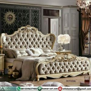 Tempat Tidur Mewah Klasik Eropa Terbaru