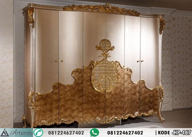 Lemari Pakaian 6 Pintu Klasik Anna HP-467