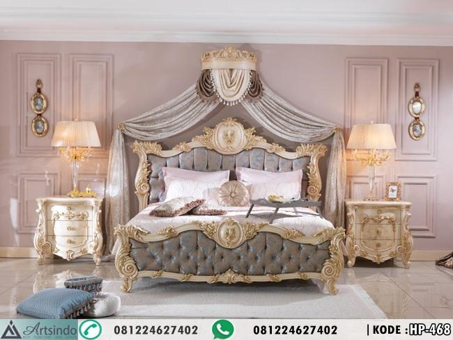 Tempat Tidur Klasik Ukir Marina HP-468