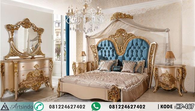 Tempat Tidur Mewah Gold Anna HP-467