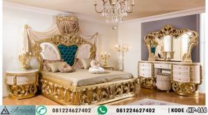 Tempat Tidur Ukir Gold Pengantin Alya