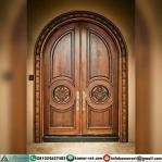 Pintu Kupu Tarung Jepara Ukiran Lengkung