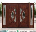 Pintu Kupu Tarung Jati Jendela Sambung HP-484