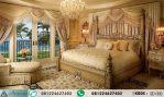 Tempat Tidur Pengantin Mewah Ukiran HP-493