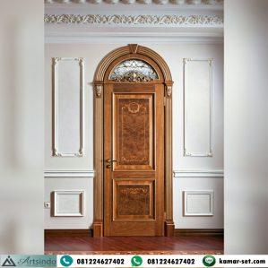 Model Pintu Kamar Klasik Lengkung