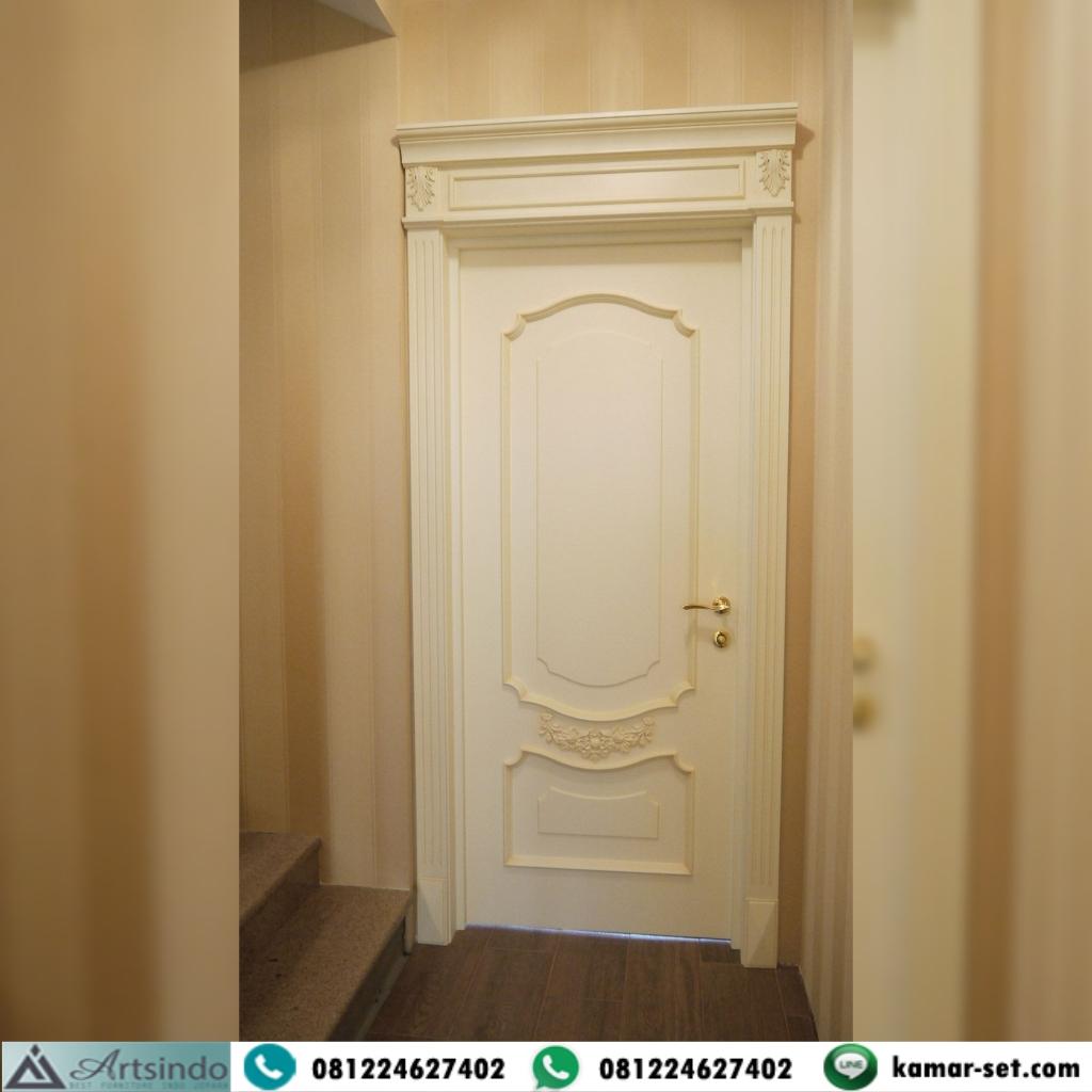 Jual Pintu Kamar Kayu Ukiran Klasik