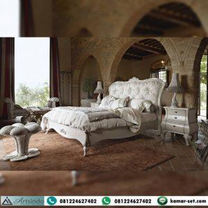 Tempat Tidur Mewah Ukir Klasik Jeny