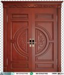 Pintu Kayu Jati Kupu Tarung Ukir Jepara HP-511