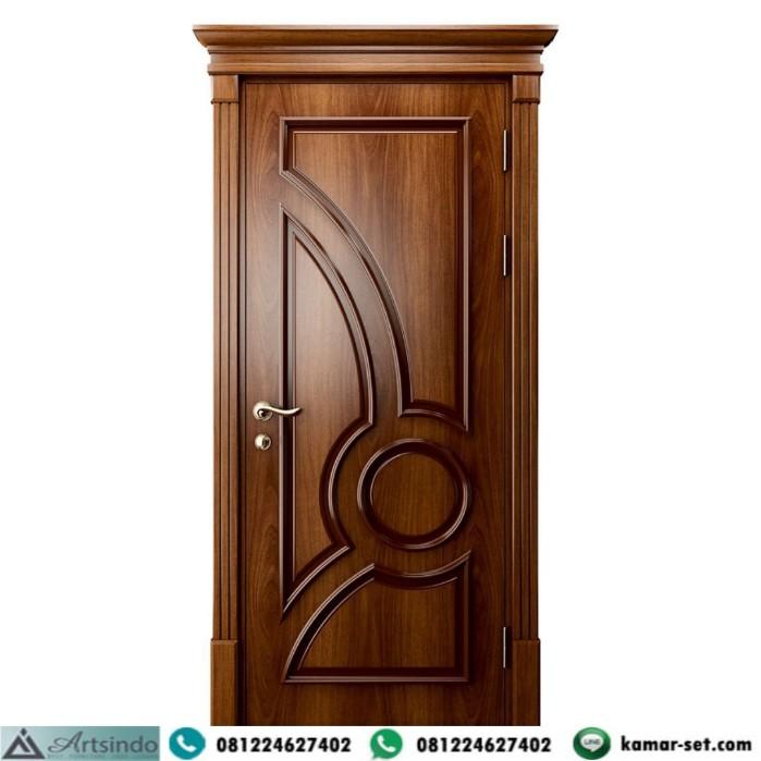Pintu Kamar Kayu Jati Jepara Murah