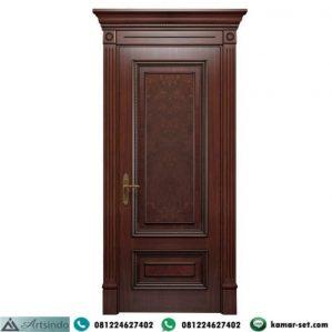 Pintu Kamar Klasik Modern Kayu Jati